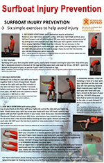 Surfboat Injury Prevention Exercises