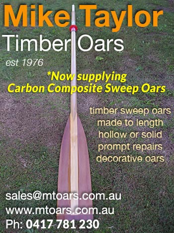 Mike Taylor Oars - Click for more info